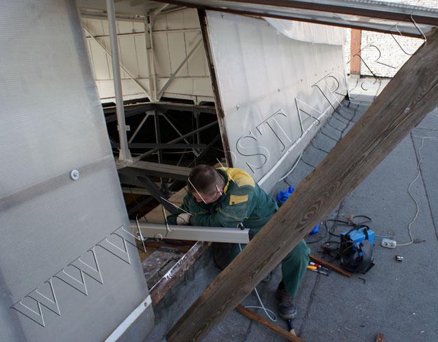 Установка дистанционно управляемых доводчиков на окна
