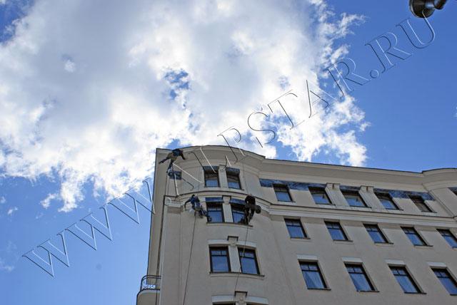 Очистка фасада