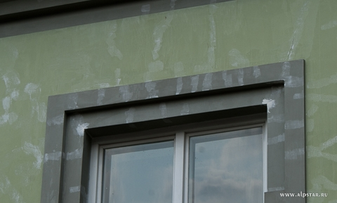 Ремонт фасада промышленными альпинистами альпстар
