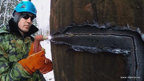 Демонтаж водонапорной башни рожновского