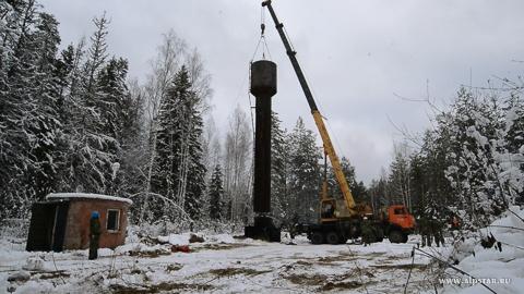 Демонтаж монтаж водонапорной башни рожновского промышленные альпинисты альпстар