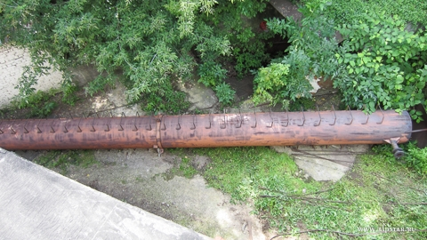Демонтированная труба
