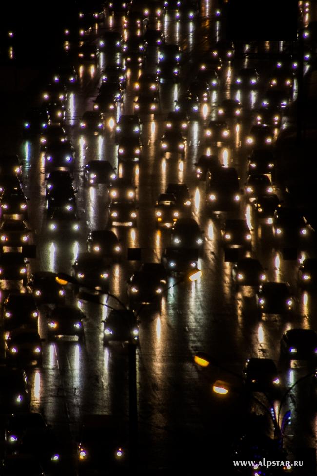 ночь дорога авто