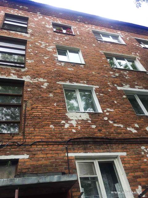 Заделка трещин на фасаде