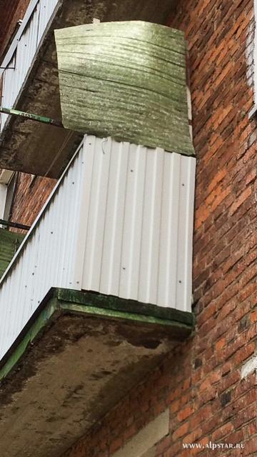 Ремонт балконов промышленные альпинисты