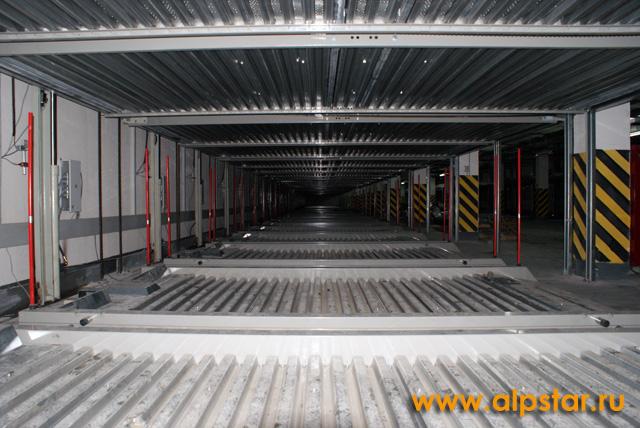 Монтаж парковочного оборудования