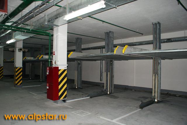 Независимые парковки в сборе