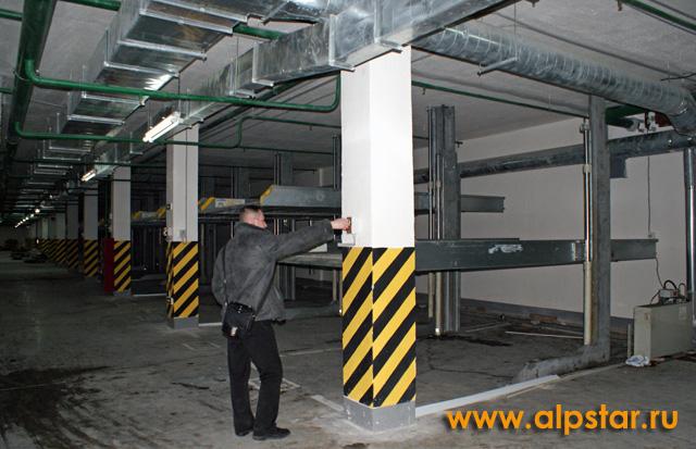 Подключение и пуско-наладка парковочного оборудования