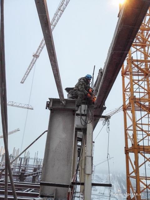 Демонтаж металлоконструкций промышленные альпинисты альпстар